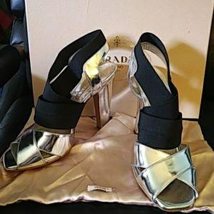 Prada Specchio Sandal